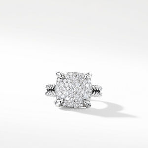 Chatelaine Ring with Diamonds, 14mm alternative image