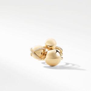 Solari Cluster Ring with Diamonds in 18K Gold alternative image