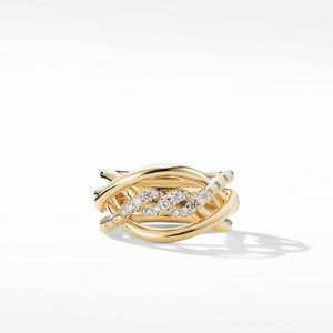 Continuance® Ring with Diamonds in 18K Gold alternative image