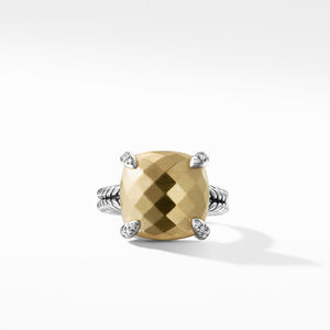 Chatelaine® Ring with 18K Gold and Diamonds, 14mm alternative image