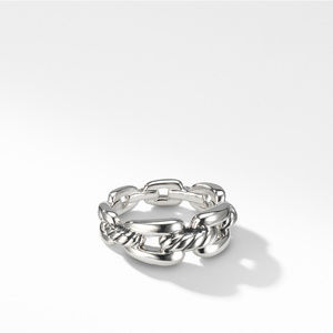 Wellesley Chain Link Ring, 8mm