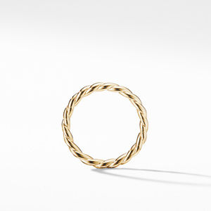 Paveflex Ring in 18K Gold, 2.7mm alternative image