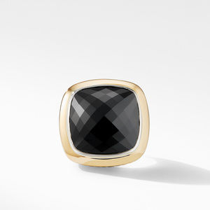 Albion® Statement Ring with 18K Gold and Black Onyx alternative image