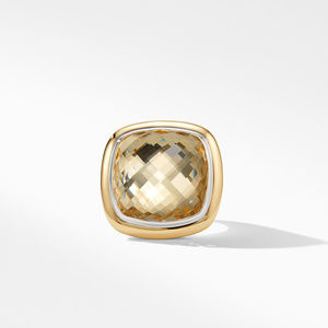 Albion® Statement Ring with 18K Gold and Champagne Citrine alternative image