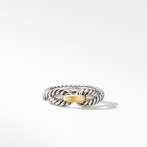 Cable Loop Ring with 18K Gold alternative image