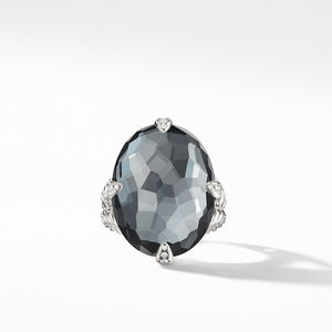 Chatelaine®Statement Ring with Black Orchid alternative image