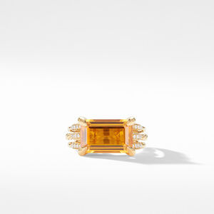 Tides Ring in 18K Yellow Gold with Citrine and Diamonds alternative image