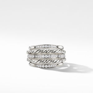 Tides Dome Ring with Diamonds alternative image
