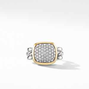 Wellesley Link Statement Ring with 18K Gold and Diamonds alternative image