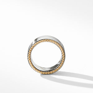 Streamline® Cable Band Ring with 18K Yellow Gold alternative image
