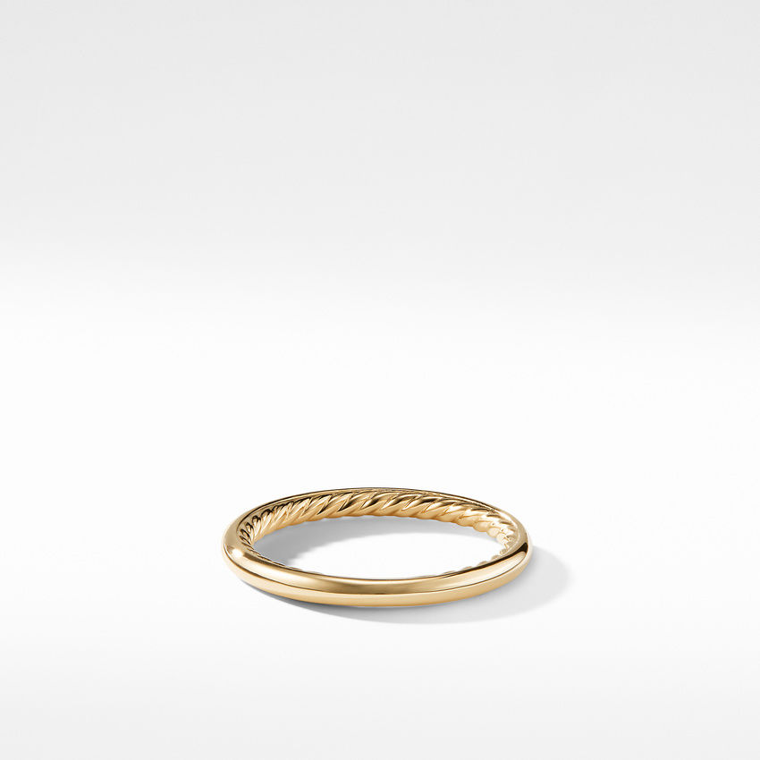 DY Eden Band Ring in 18K Yellow Gold