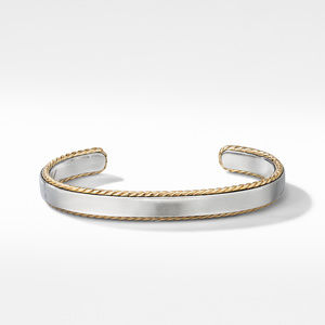 Streamline® Cable Cuff Bracelet with 18K Yellow Gold alternative image