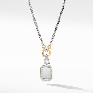 Novella Pendant with Blue Topaz and 18K Yellow Gold alternative image