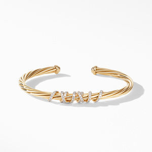 Helena Center Station Bracelet in 18K Yellow Gold with Diamonds alternative image