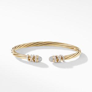 Helena End Station Bracelet in 18K Yellow Gold with Diamonds alternative image