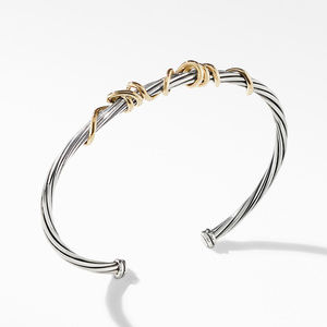 DY Whispers Mom Bracelet with 14K Yellow Gold