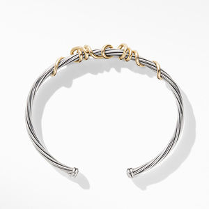 DY Whispers Mom Bracelet with 14K Yellow Gold alternative image