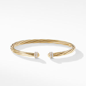 Helena Bracelet in 18K Yellow Gold with Diamonds alternative image