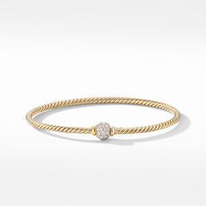 Solari Center Station Bracelet in 18K Yellow Gold with Diamonds alternative image
