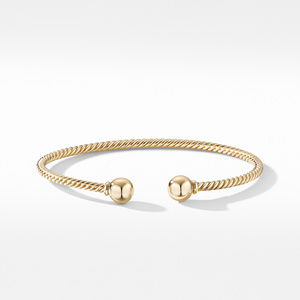 Solari Bracelet in 18K Yellow Gold with Gold Domes alternative image