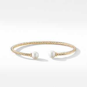 Solari Bracelet in 18K Yellow Gold with Pearls alternative image