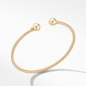 Solari Bracelet in 18K Yellow Gold with Gold Domes