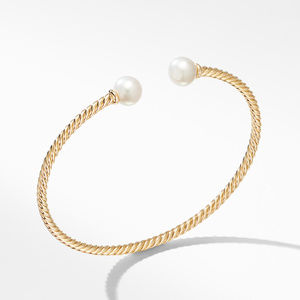 Solari Bracelet in 18K Yellow Gold with Pearls