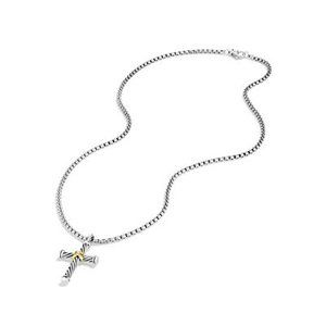 Cable Cross with 18K Gold alternative image
