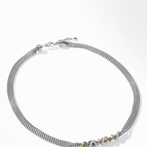 Helena Short Necklace with 18K Yellow Gold and Diamonds alternative image