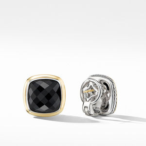 Albion® Stud Earrings with Black Onyx and 18K Yellow Gold alternative image