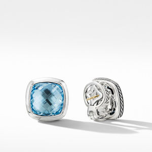 Albion® Stud Earrings with Blue Topaz alternative image