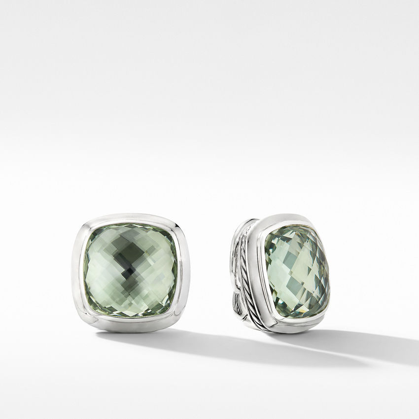 Albion® Stud Earrings with Prasiolite