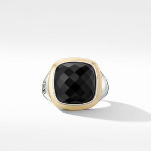 Albion® Ring with Black Onyx and 18K Yellow Gold alternative image