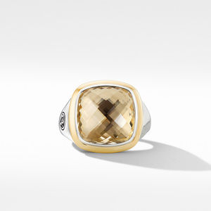 Albion® Ring with Champagne Citrine and 18K Yellow Gold alternative image