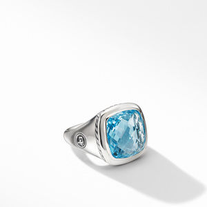 Albion® Ring with Blue Topaz