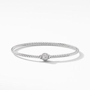 Solari Center Station Bracelet in 18K White Gold with Diamonds alternative image