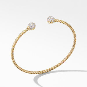 Solari Bracelet in 18K Yellow Gold with Diamonds