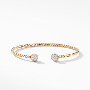Solari Bracelet in 18K Yellow Gold with Diamonds alternative image