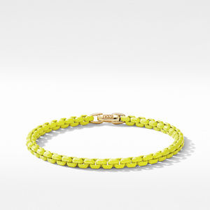 DY Bel Aire Chain Bracelet in Yellow with 14K Yellow Gold Accent
