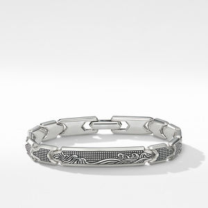 Waves ID Link Bracelet