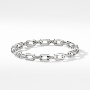 Stax Link Bracelet with Diamonds alternative image