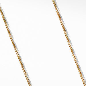 Small Box Chain in 18K Gold, 2.7mm alternative image