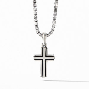 Deco Cross Pendant