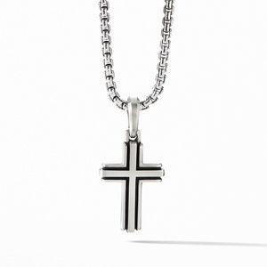 Deco Cross Pendant