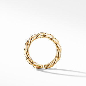 Gold Flex Band Ring in 18K Yellow Gold alternative image