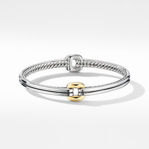 Thoroughbred® Center Link Bracelet with 18K Yellow Gold alternative image