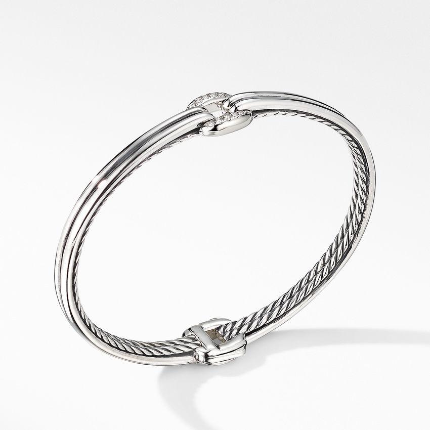 Thoroughbred® Center Link Bracelet with Diamonds