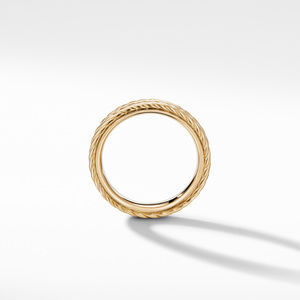 Maritime® Two-Row Rope Band Ring in 18K Yellow Gold alternative image