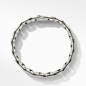 Deco Chain Link Bracelet with Pavé Black Diamonds alternative image