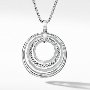 Stax Medium Pendant Necklace with Diamonds alternative image